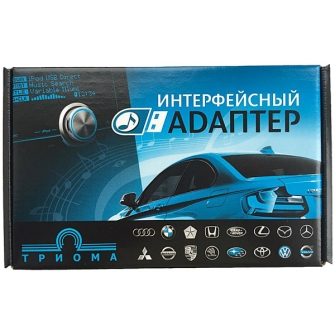 ТРИОМА Multi-Flip - USB MP3 адаптер для Mitsubishi (тип 13-pin)