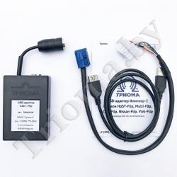 ТРИОМА CAN-Flip - USB MP3 адаптер для Citroen